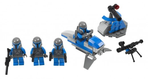 "LEGO Star Wars 7914 Mandalorian Battle Pack - ""Ok, which among you is the assassin?"""