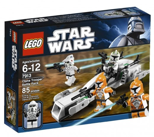 LEGO Star Wars 7913 Clone Trooper Battle Pack - The box again!