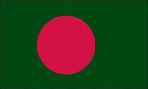 The Bangladeshi flag is widely seen flying in East York's 'Little Bangladesh'.