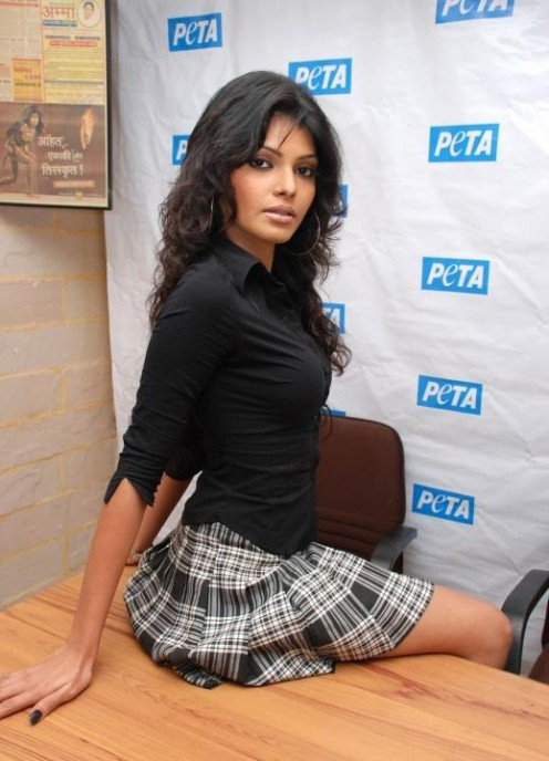 Interesting and Shocking Photoshoot of Bollywood Item Girl Caught in Cage Image 6