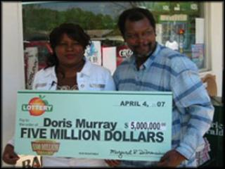 Doris Murray won a life changing amount