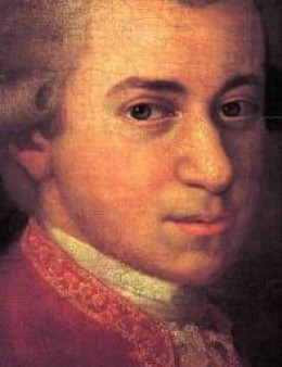 Mozart. Composer of the most sublime music.