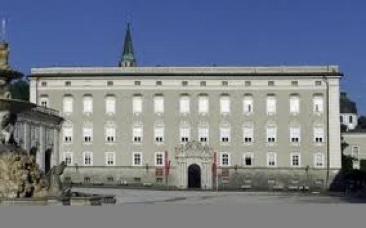 "The Archbishops Palace Salzburg. Location for the most famous ""Ass kicking"" in history."