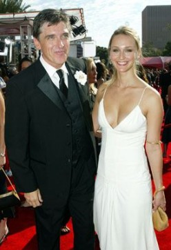 Craig Ferguson with his third (and he promises absolutely final) wife Megan.