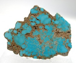 Turquoise photographed by Dr Rob Lavinsky @ irocks.com . Courtesy Wiki Commons