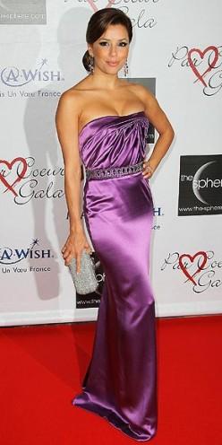 Eva Longoria Dresses: Strapless Dresses