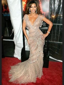 Mermaid Style Dresses: Beyonce's Go-to Dress