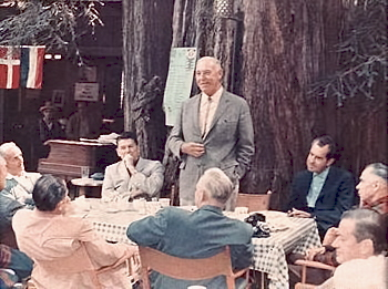 The Bohemian Grove for the 'elite' Who'd a thunk it? NIXON AND REAGAN