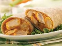 Buffalo Chicken Wrap, photo from Nutrisystem