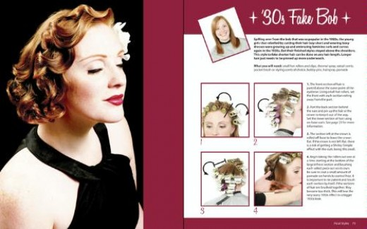 hairstyling books. Replicate Vintage Hairstyles
