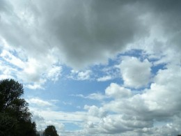 Amazing clouds seem to always accompany us or perhaps guide us towards our next destination.