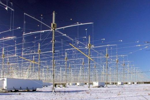 Rumored part of Bluebeam - HAARP station Alaska