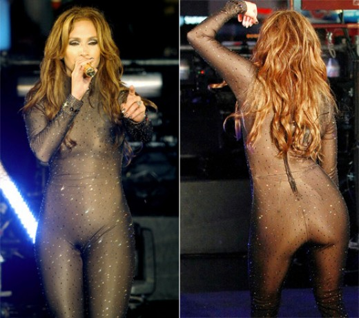 "JLo in her Outrageous ""Cat Suit"""