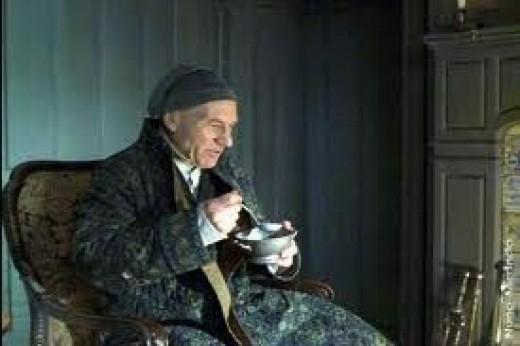 Sir Patrick Stewart played Scrooge brilliantly.