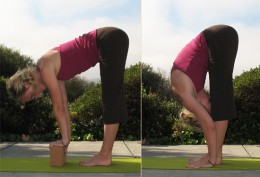 Standing Forward Bend Modified