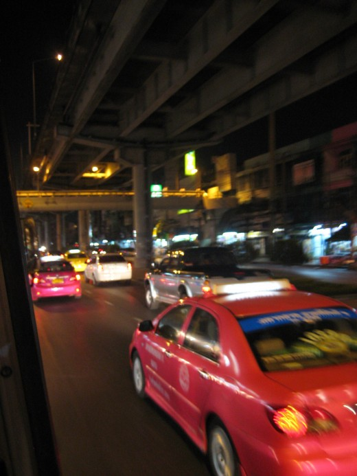Taken From a Bus in Bangkok