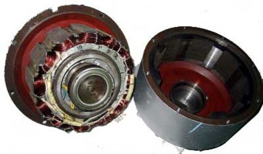 The inside of an electric bike hub motor may look complex, but the principle is very simple.