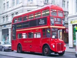 London red double-decker bus
