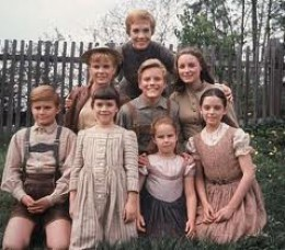 A good shot of the Von Trapp children with Maria (J. Andrews)