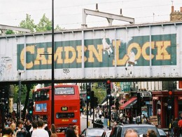 Camden Lock Market Entrance