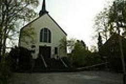 Church of St. Konrad, Vaalserquartier, Aachen. Originally its parishioners were part of a parish in Vaals, The Netherlands