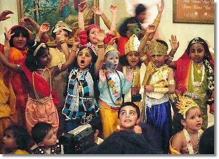 Hindu children
