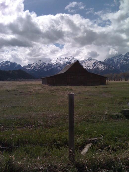 Wyoming Barn Near Jackson Hole
