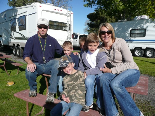 Family Photo Idaho - 2nd Night