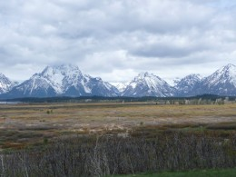 Grand Tetons - First Glimpse