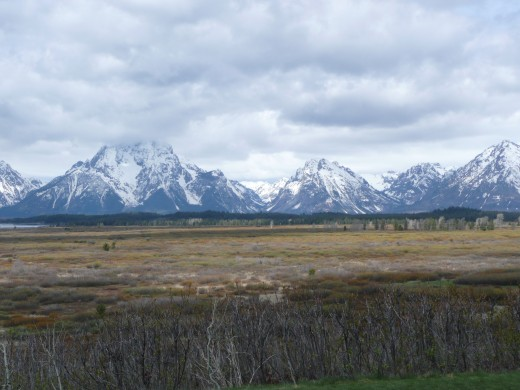 Grand Tetons - First Glimpse