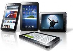 The Samsung Galaxy Tab 7""
