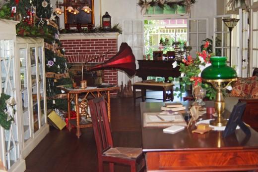 Inside Edison's home