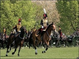 Queens guards annual inspection at Regents Park