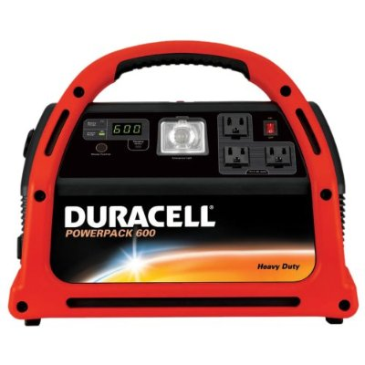 Duracell DPP-600HD Jump Starter & Emergency Power Source With Radio