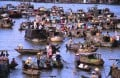 Can Tho City On The Mekong River Delta In Southern Vietnam