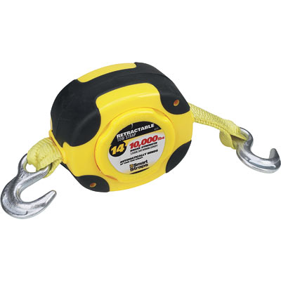 SmartStraps Retractable Tow Strap  14ft., 9000-Lb. Capacity