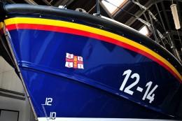 Bow of RNLI lifeboat  David Lloyd-Jones 2010