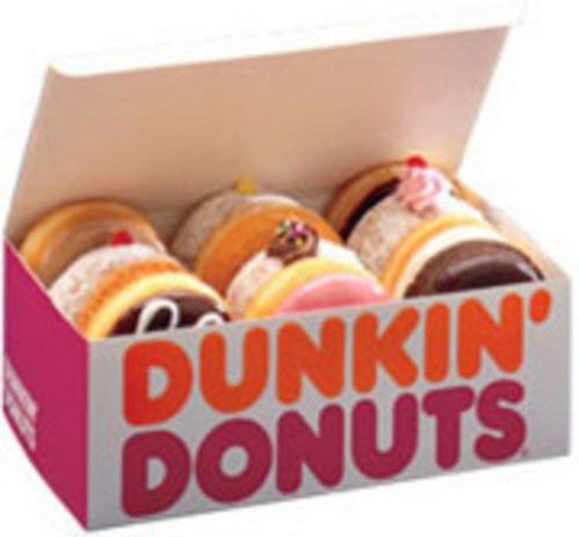 Dunkin Donuts free donuts on National Doughnut Day