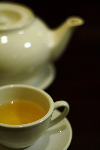 Green Tea is an excellent diuretic