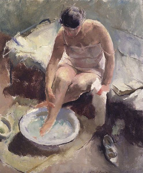 Foot Bath - John R. Frazier