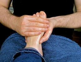 Treat yourself to a foot massage