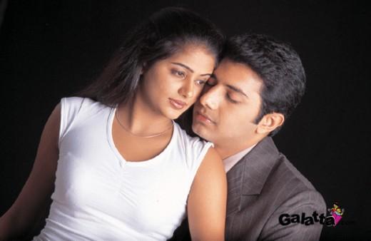 A still for her debut film-kangalaal kaidhu sei-under the famous Bharathiraja
