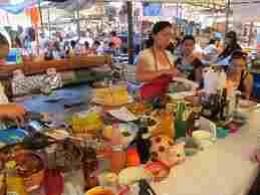Tepotzlan market food section