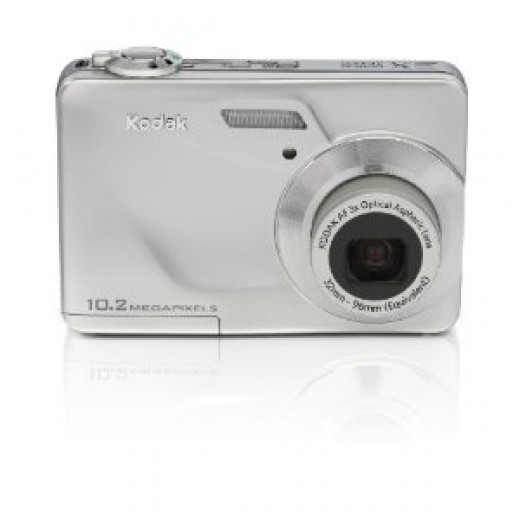 Kodak C180 10 MP HD Digital Camera with 3x Optical Zoom and 2.4 LCD Screen (Silver)