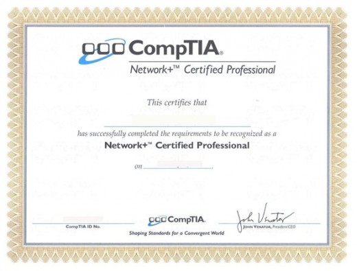 CompTIA A+ and Network+ Certifications
