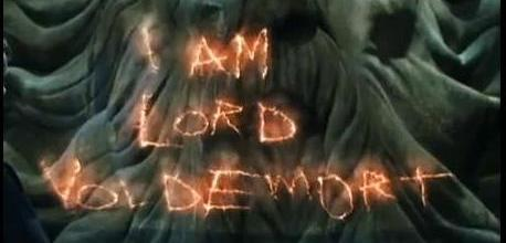 I am Lord Voldemort from the name TOM MARVOLO RIDDLE