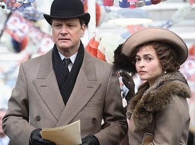 "Colin Firth and Helena Bonham Carter star in ""The King's Speech"""