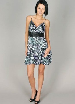 buy a animal print dress
