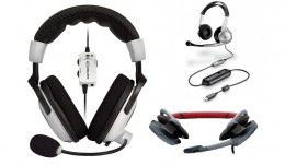 Bang for your buck check out the Ear Force X11(PC or Xbox 360 under $50). If your price range is lower, then I'd recommend starting out with the Logitech Gaming Headset.  If you want the best of the best, then go with Plantronic's Game Com Pro1