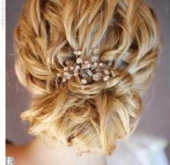 Bridesmaid Hairstyles, Half Up, Half Down, UpDo, and All Down